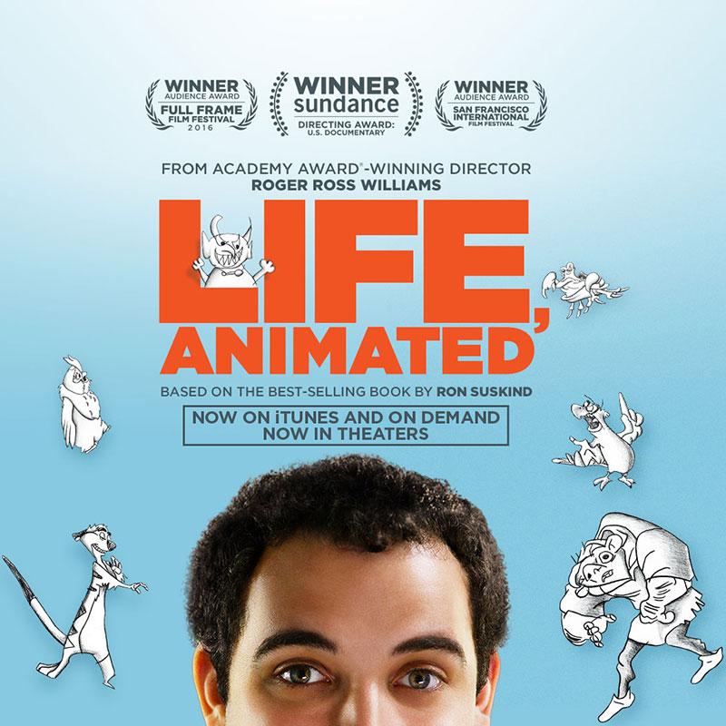 """Proiezione di """"Life Animated"""" - Politeama Tolentino"""