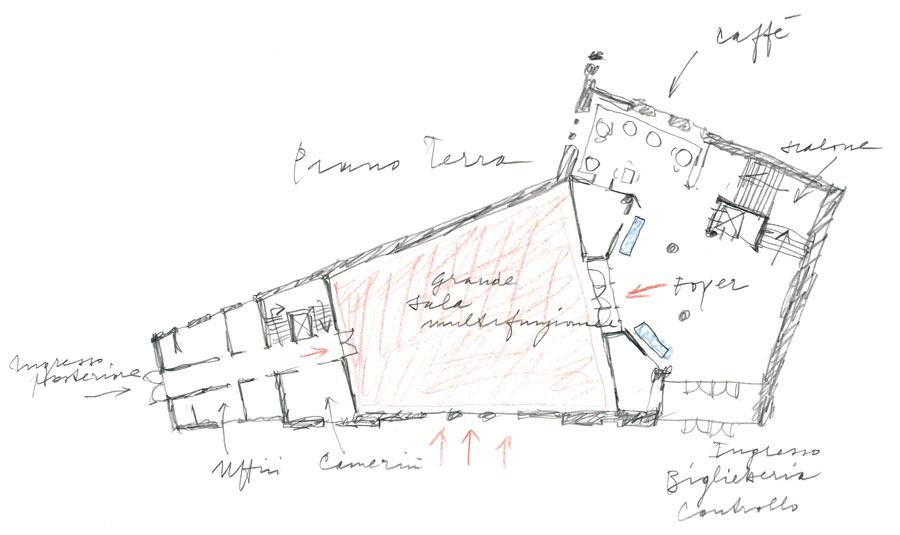 I disegni originali dell'Architetto Michele De Lucchi