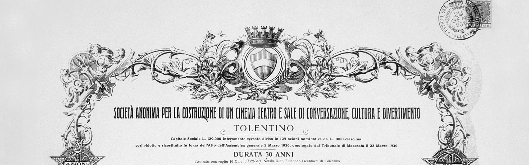 Società - Politeama Tolentino