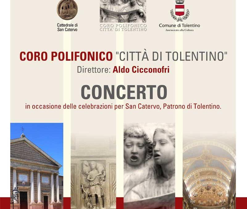 """Concerto Coro Polifonico """"Città di Tolentino"""""""
