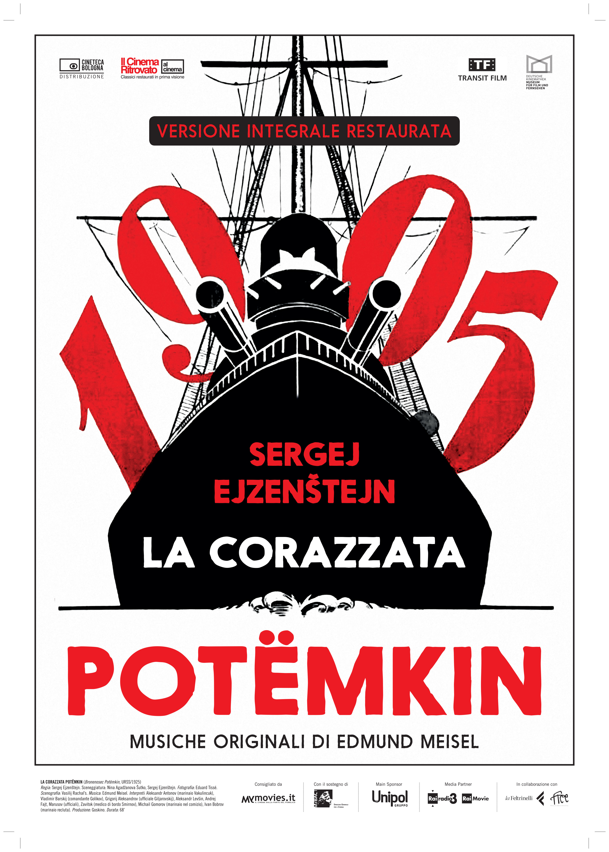 Locandina - La Corazzata Potëmkin
