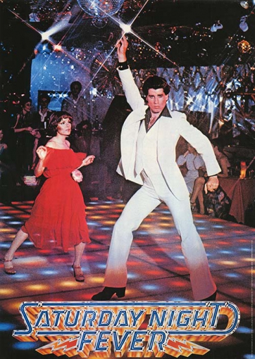 Locandina - La febbre del sabato sera (Saturday Night Fever)