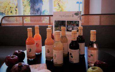 Alla Caffetteria del Politeama sono arrivati i succhi di frutta naturali Van Nahmen