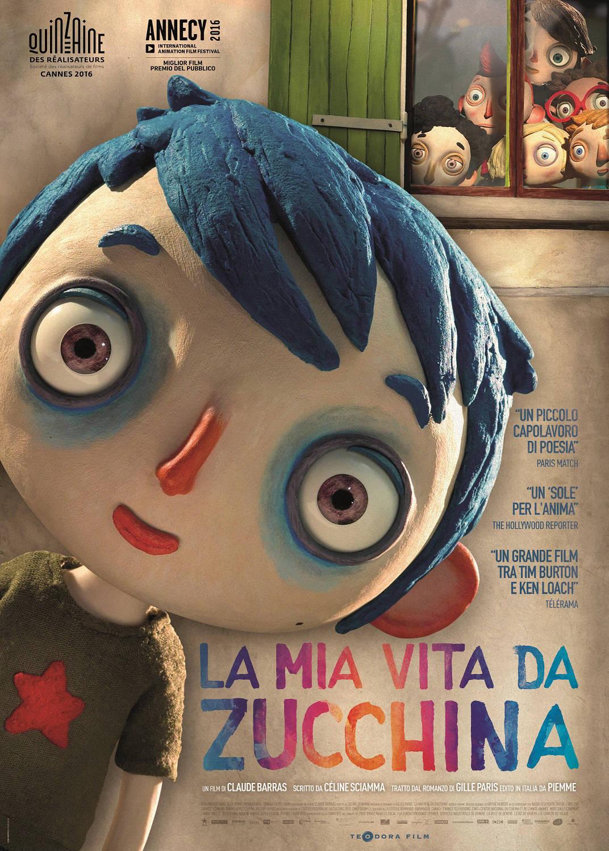 Locandina - La mia vita da Zucchina