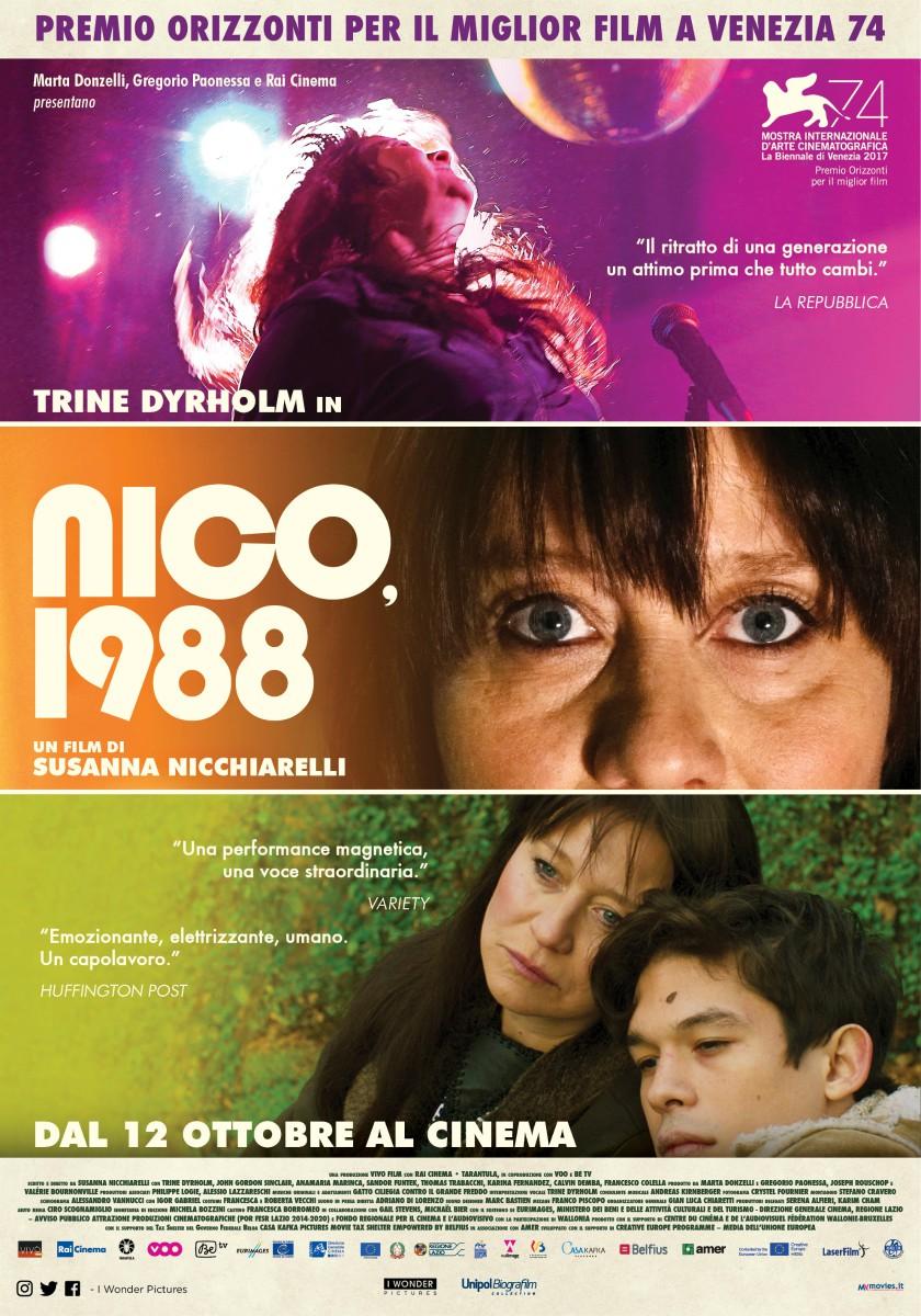 Locandina - NICO, 1988