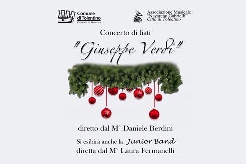 """Concerto di fiati """"Giuseppe Verdi"""" e Junior Band"""