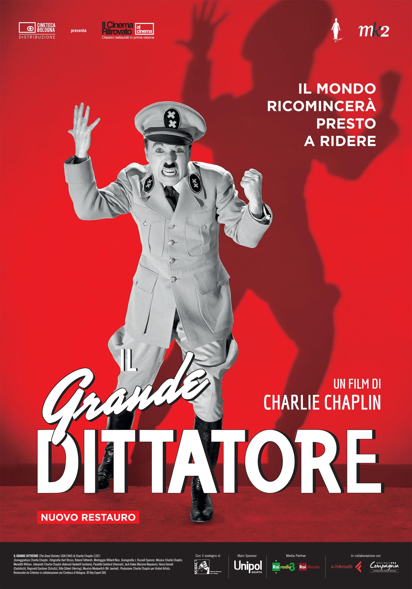 Locandina - Il Grande Dittatore