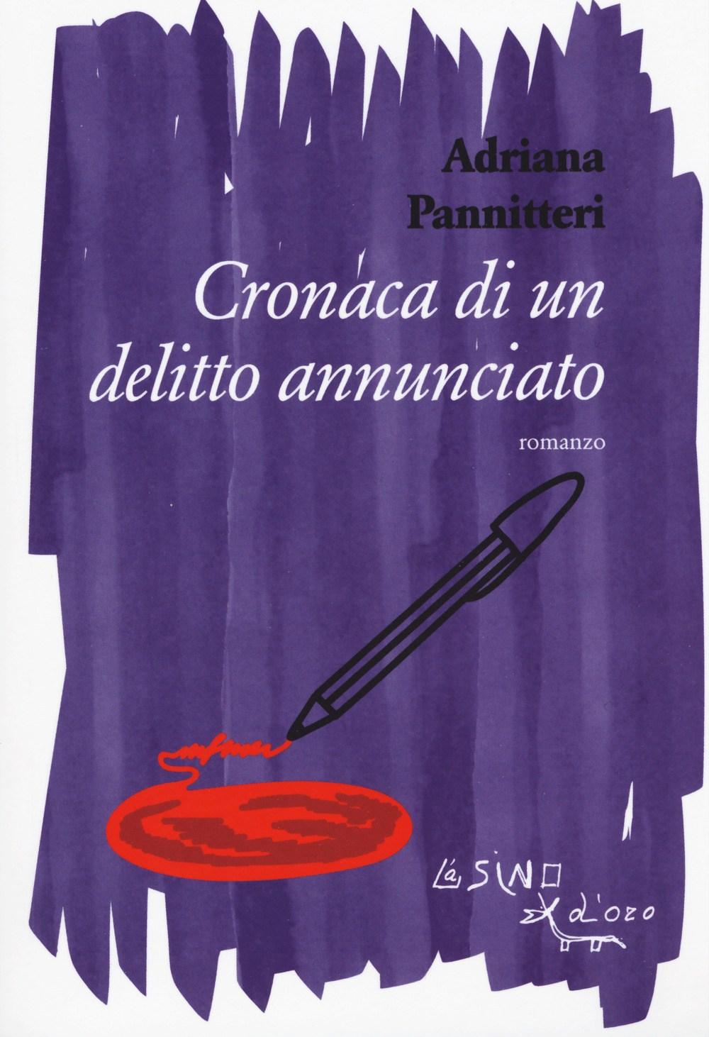 Locandina - Cronaca di un delitto annunciato con Adriana Pannitteri