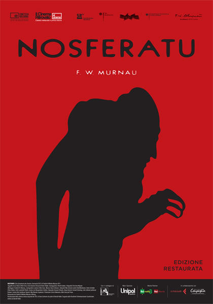 Locandina - Nosferatu – sonorizzazione live a cura del gruppo jazz INVENTIO