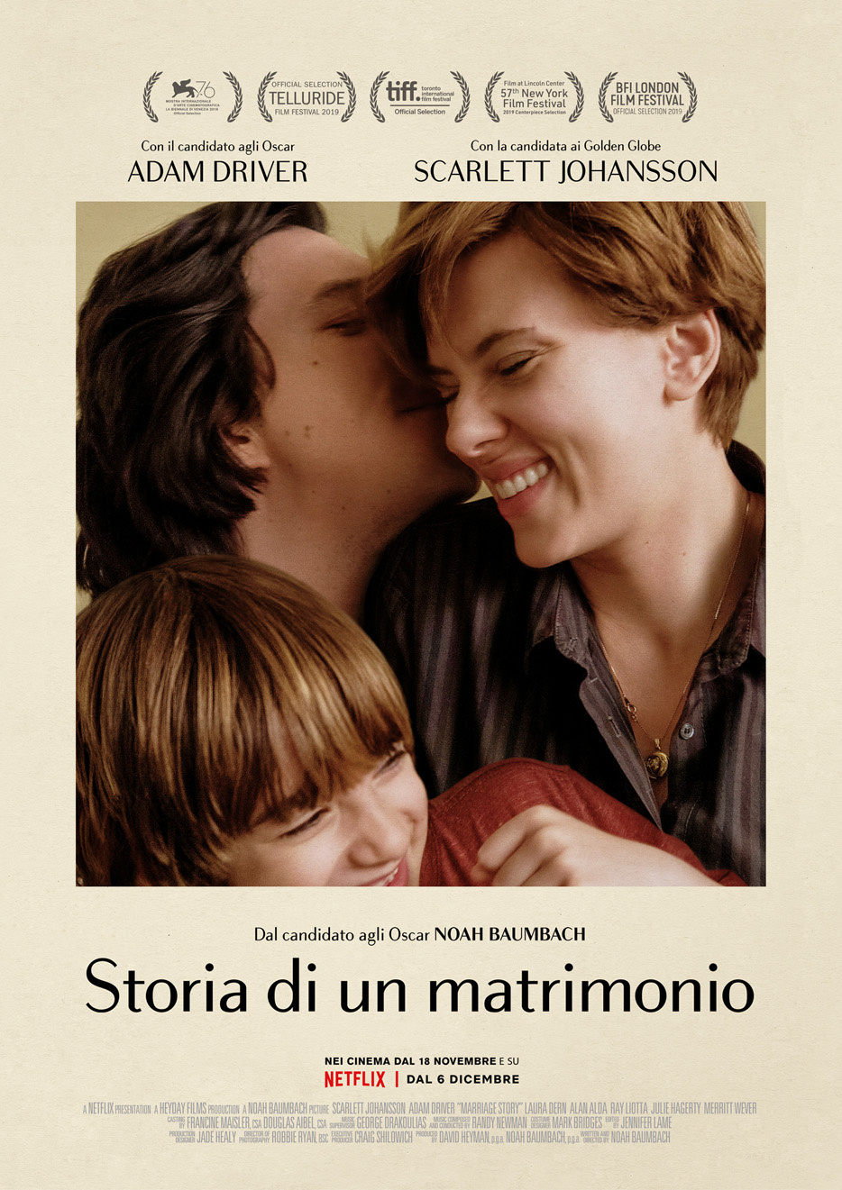 Locandina - Marriage Story – Storia di un matrimonio