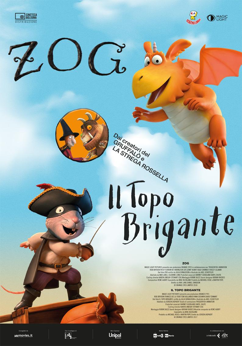 Locandina - Zog & Il topo brigante