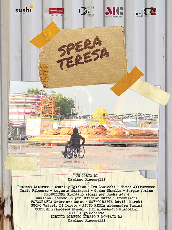 Locandina - Spera Teresa – Anteprima regionale