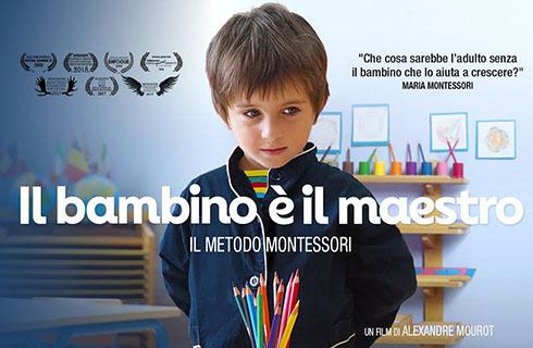 """""""Il bambino è il maestro. Il Metodo Montessori"""" proiezione del film con dibattito"""