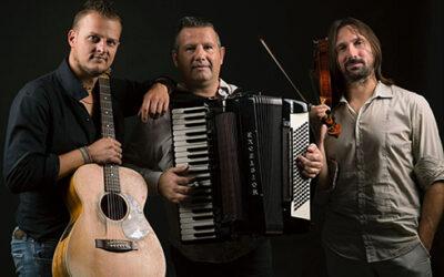 Il Trio GoInBa e il duo di tangheri di Pasiòn Tango in diretta streaming dal palco del Politeama