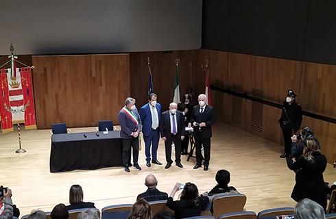 Nel Giorno della Memoria il Politeama ha ospitato la consegna delle Medaglie d'Onore ai familiari delle vittime dell'Olocausto